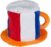 Nederland Bierhoed 20 X 30 X 30 Cm Rood/wit/blauw/oranje