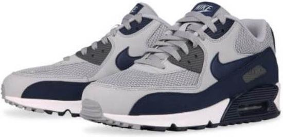 Nike Air Max 90 Essential Sneakers Heren grijsblauw Maat 40.5