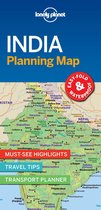 Lonely Planet India Planning Map