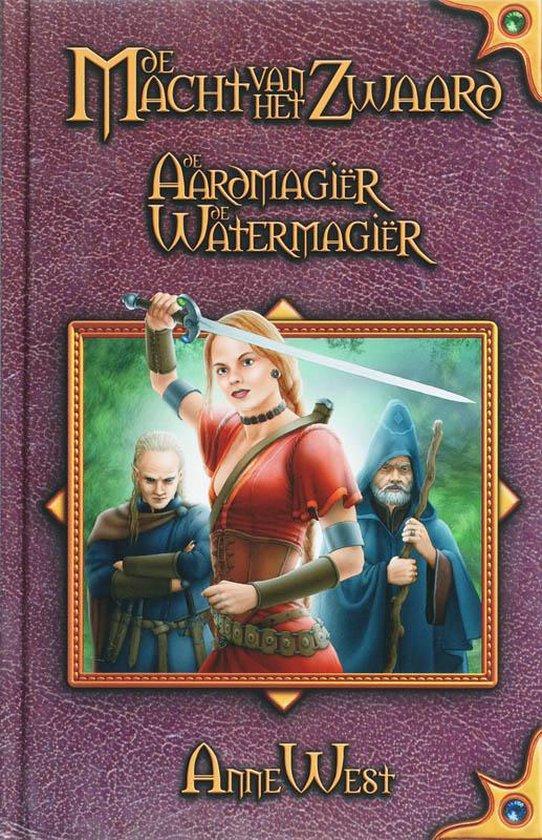 Cover van het boek 'De Macht van het Zwaard / 1 De aardmagiër / De watermagiër' van A. West