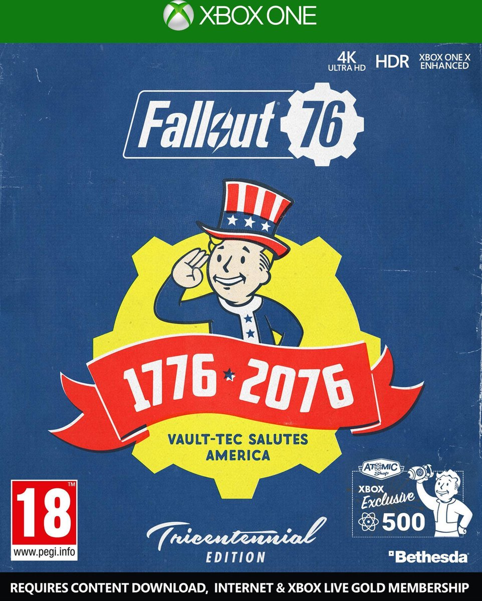 Fallout 76 Tricentennial Edition - Xbox One - Fallout 76 Tricentennial