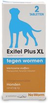 Exil No Worm Ontwormingsmiddel - Grote Hond - 2 Tabletten