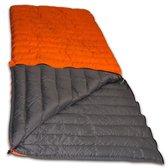 LOWLAND OUTDOOR® Donzen slaapzak - Super compact blanket - 210 x 80 cm - 590gr +8°C