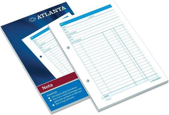 Atlanta Notablok  100V wit
