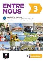 Afbeelding van Entre Nous 3 Livre de l´éleve et Cahier d´activités+CD - version originale