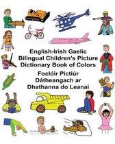 English-Irish Gaelic Bilingual Children's Picture Dictionary Book of Colors Focloir Pictiur Datheangach AR Dhathanna Do Leanai