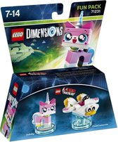 Warner Bros DIMENSIONS LEGO Fun Pack - Unikitty Bouwpakket