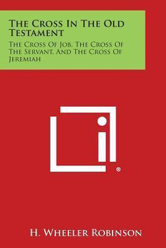Boek cover The Cross in the Old Testament van H Wheeler Robinson (Paperback)