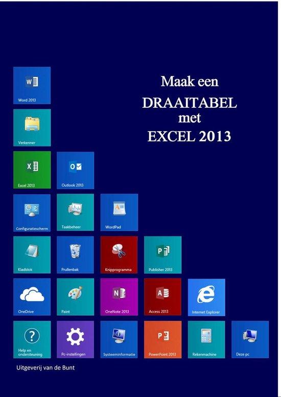 Draaitabellen - Excel 2013 - Johan van de Bunt   Fthsonline.com