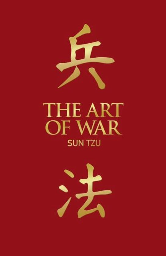 Boek cover The Art of War van Sun Tzu (Hardcover)