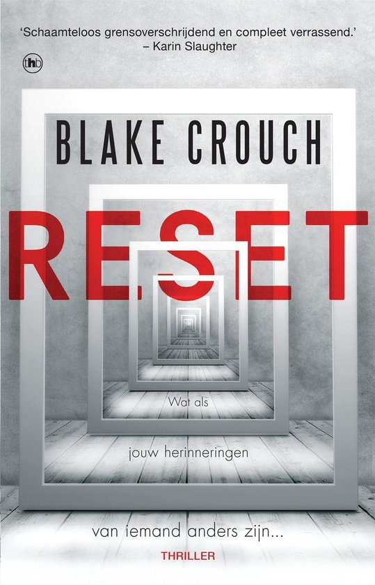 Reset - Author Blake Crouch  