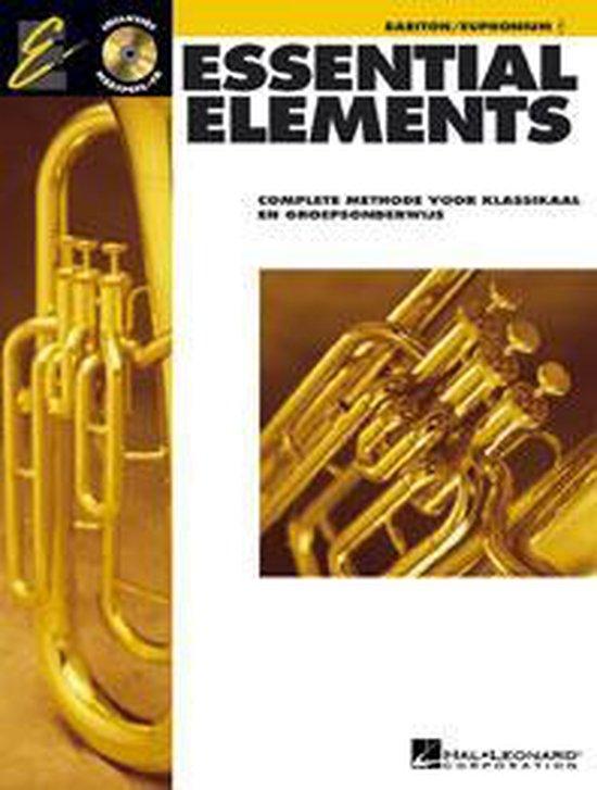 1 Baritone TC Essential elements - Divers |