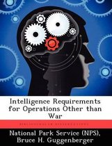Intelligence Requirements for Operations Other Than War