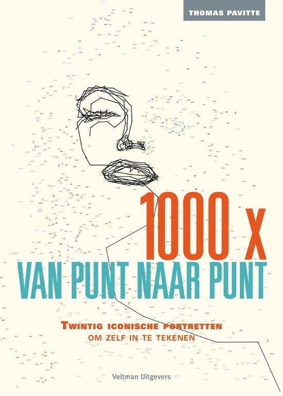 Cover van het boek '1000x van punt naar punt' van Thomas Pavitte