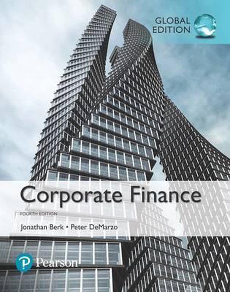 Corporate Finance, Global Edition - Jonathan Berk