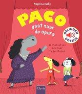 Boek cover Paco gaat naar de opera van Magali Huche