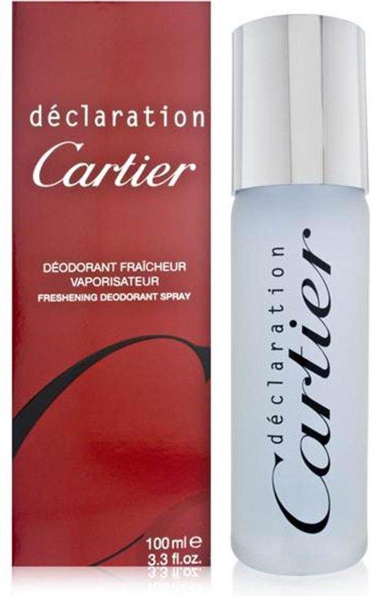 MULTI BUNDEL 2 stuks Cartier Declaration Deodorant Spray 100ml