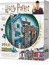 Wrebbit 3D Puzzle - Harry Potter Ollivander's Wand Shop & Scribbulus (295)