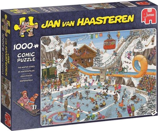 Afbeelding van Jan van Haasteren De Winterspelen Puzzel 1000 Stukjes