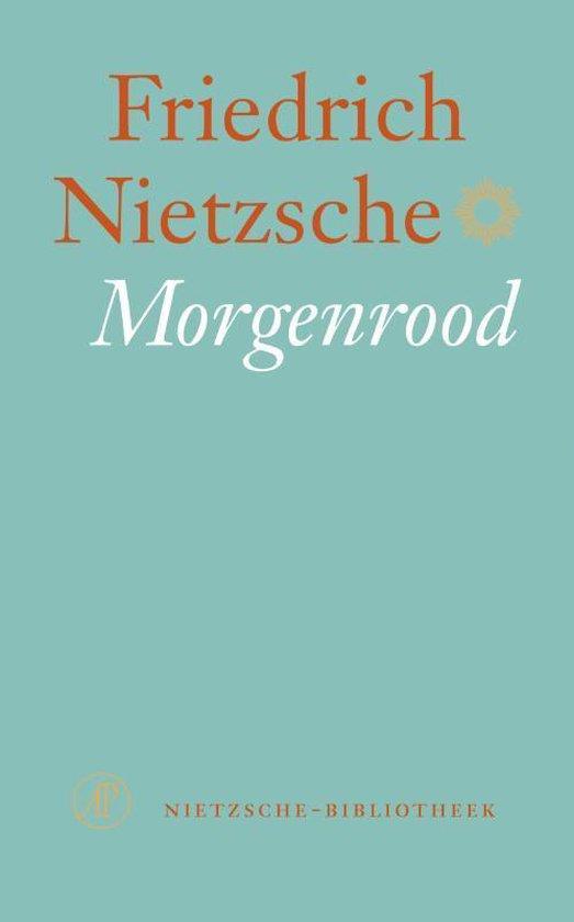 Boek cover Morgenrood van Friedrich Nietzsche (Onbekend)