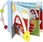 Babyboekje Stof - Imaginarium - Knisperboekje Baby - Met Kralen - Mijn Eerste Stoffen Boekje