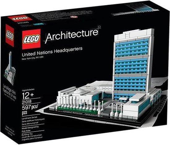 LEGO Architecture United Nations Headquarters - 21018