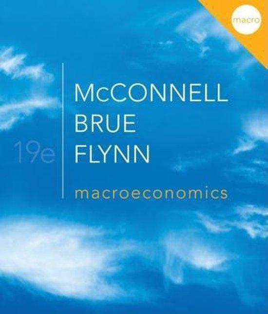 Boek cover Macroeconomics van Campbell R. Mcconnell (Paperback)