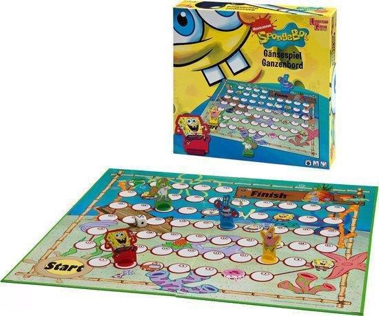 Thumbnail van een extra afbeelding van het spel Spongebob Ganzenbord