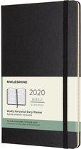Afbeelding van Moleskine Agenda - 12 Maanden - Wekelijks - Horizontaal - Large (13x21cm)  - Zwart - Harde Kaft