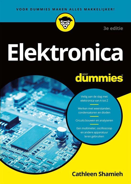 Boek cover Elektronica voor Dummies van Gordon McComb (Paperback)