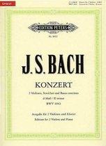 Konzert für 2 Violinen, Streicher und Basso continuo d-Moll BWV 1043 / URTEXT