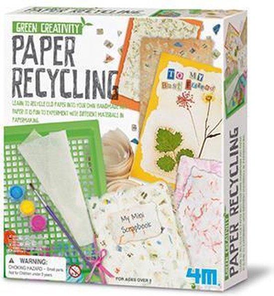 4M Green Creativity - Papier Recycleren