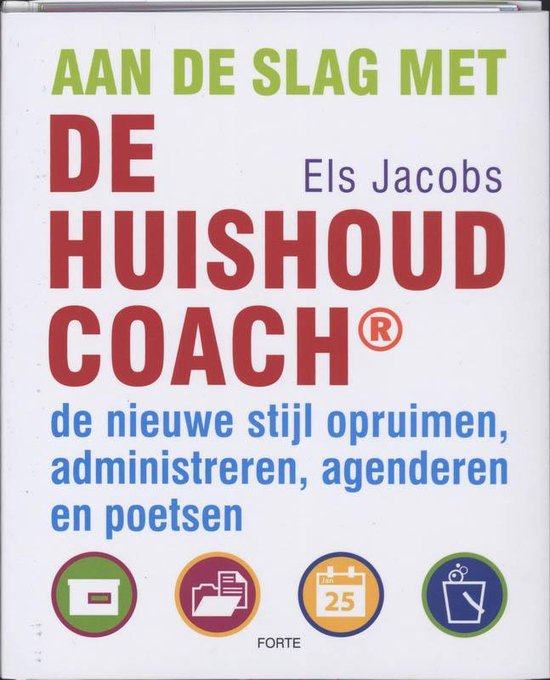 Aan De Slag Met De Huishoudcoach - Els Jacobs   Fthsonline.com