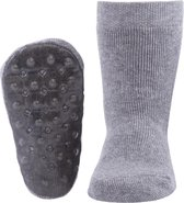 Ewers anti-slip sokken Stoppi uni grijs melee Maat 29-30