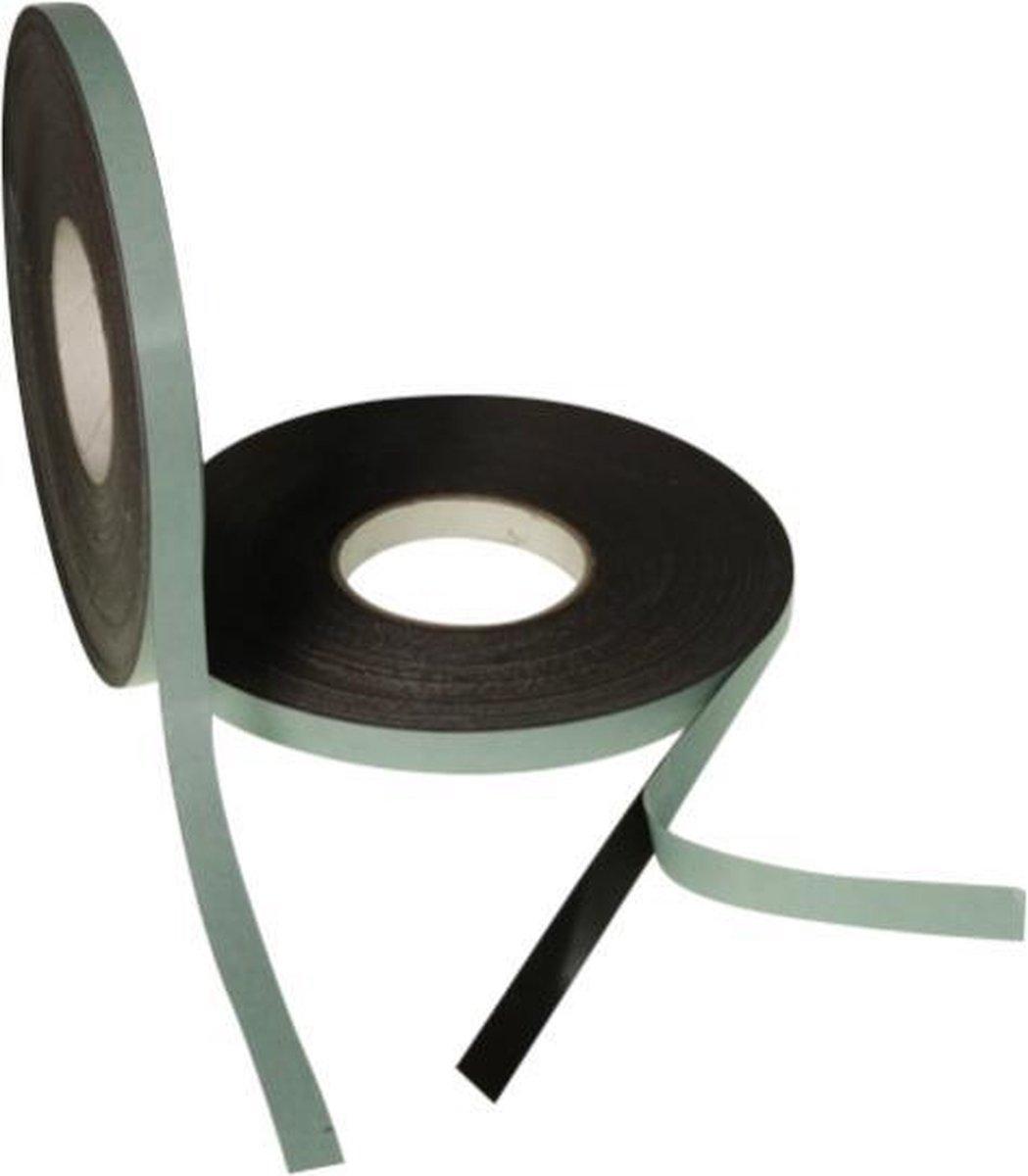 Kadeem Zelfklevend Magneetband 12,5mm op rol van 5 meter - Kadeem