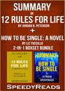 Omslag Summary of 12 Rules for Life: An Antidote to Chaos by Jordan B. Peterson + Summary of How To Be Single: A Novel by Liz Tuccillo 2-in-1 Boxset Bundle