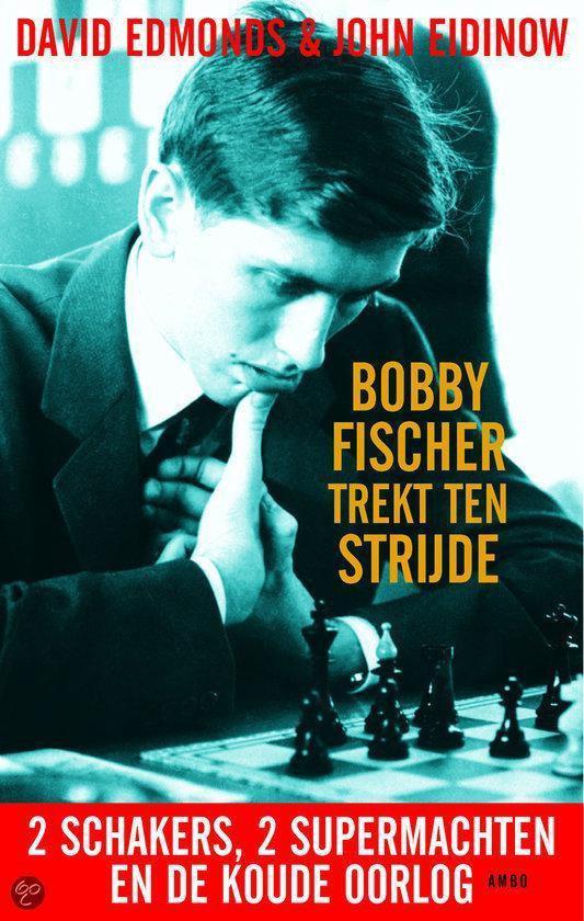 Cover van het boek 'Bobby Fischer trekt ten strijde'