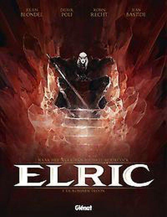 Cover van het boek 'Elric 001 Een troon van robijnen'