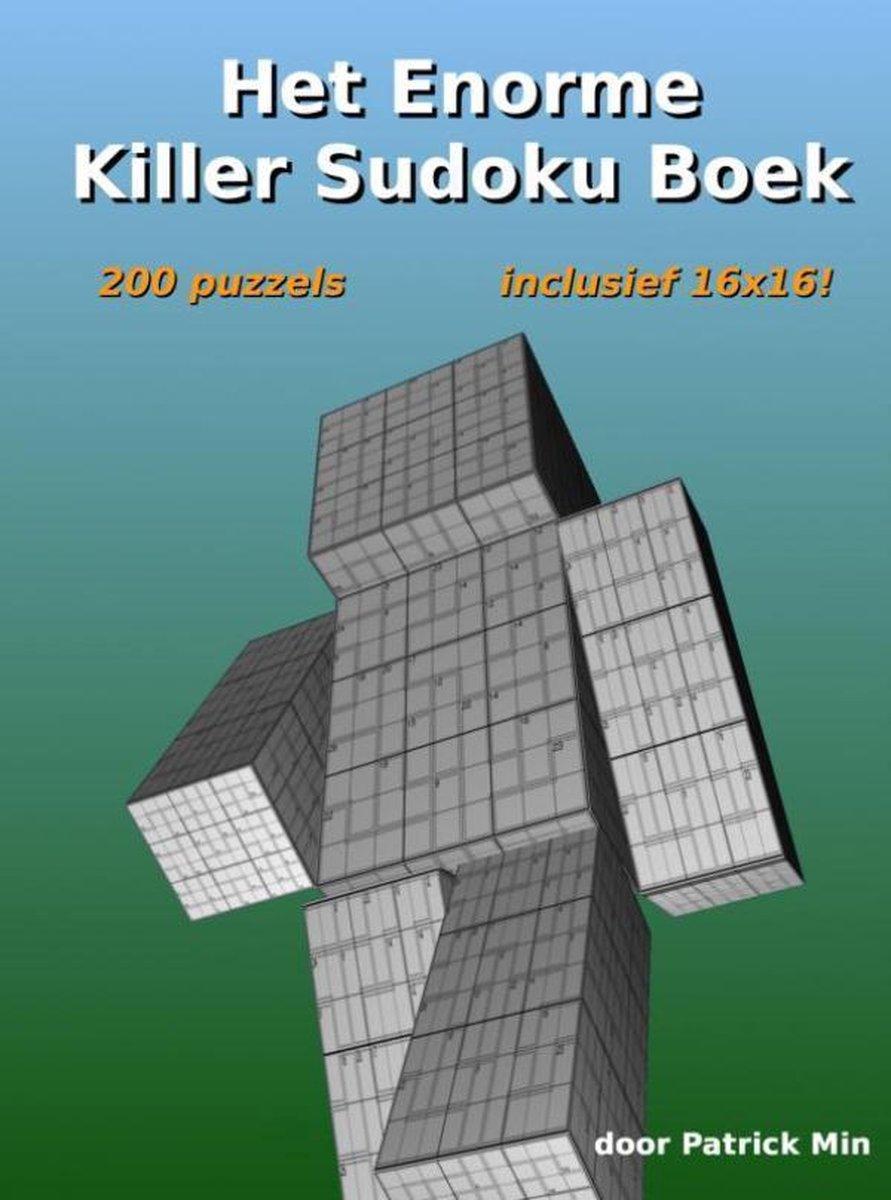 Het enorme killer sudoku boek - Patrick Min