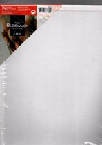 Schildersdoek 24x30cm Bleiswijck - Drievoudig geprepareerd - 280 gram per m2 - 24 x 30cm - 3 stuks - Schildercanvas - Schilder doek
