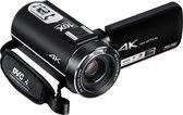 Lipa AD-C7 camcorder 4K videocamera - Sony lens en phone remote - 120x zoom - Met 32 GB SD-kaart - Wifi - Aansluiting statief en microfoon