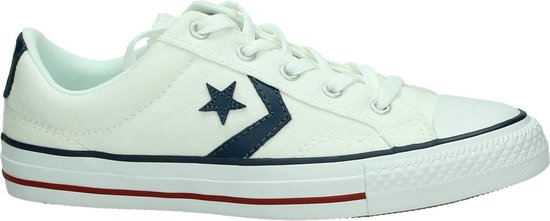 Converse - Star Player Ox - Sneaker laag sportief - Jongens - Maat 39 - Wit  - Converse White