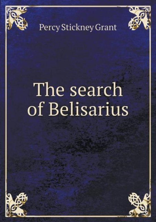The Search of Belisarius