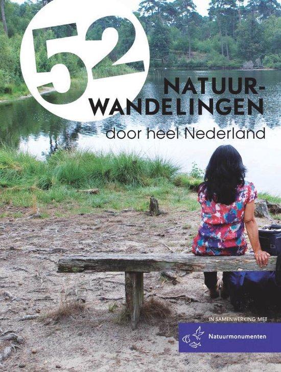 52 natuurwandelingen door heel Nederland - Marjolein den Hartog  