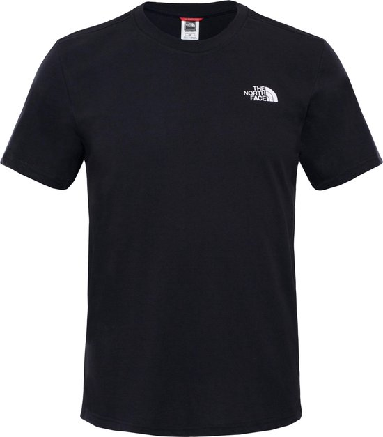 The North Face S/s Simple Dome Tee - Eu Outdoorshirt Heren - TNF Black