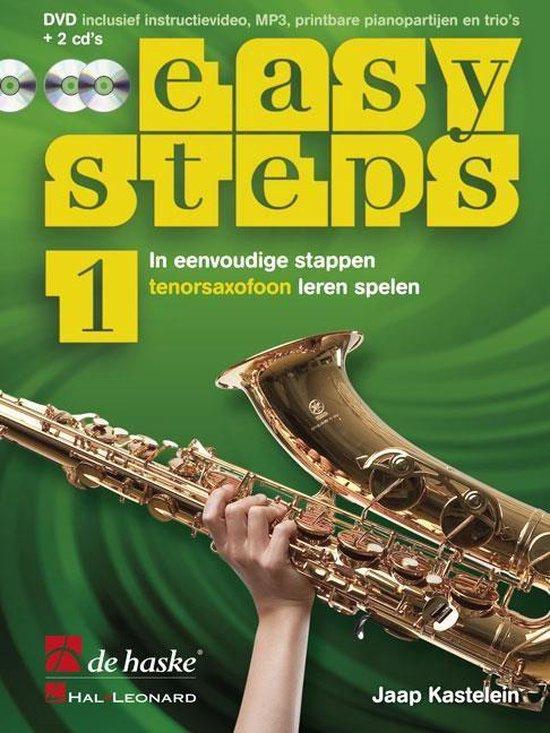Easy Steps deel 1 methode voor Tenorsaxofoon - J.J.P. Kastelein |