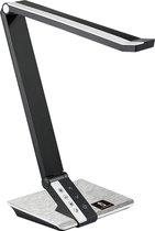 Aigostar Galaxy - LED bureaulamp - Zwart/Zilver