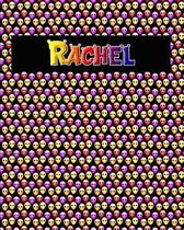 120 Page Handwriting Practice Book with Colorful Alien Cover Rachel