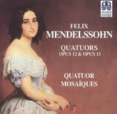 Mendelssohn: String Quartets Op 12 & 13 / Quatuor Mosaiques