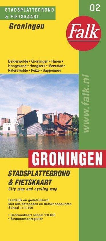 Groningen plattegrond - Falk |